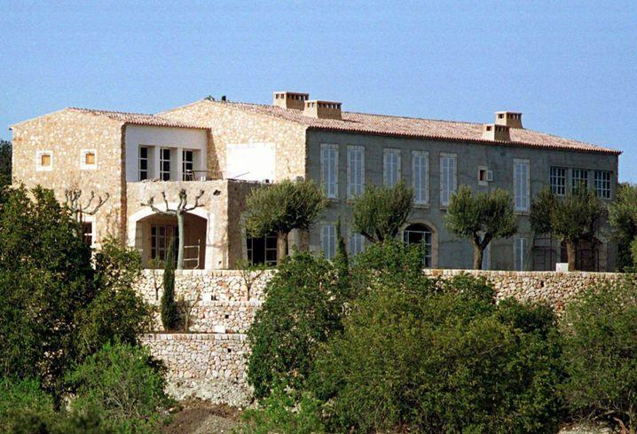 Stein des Anstoßes: Beckers Finca auf Mallorca