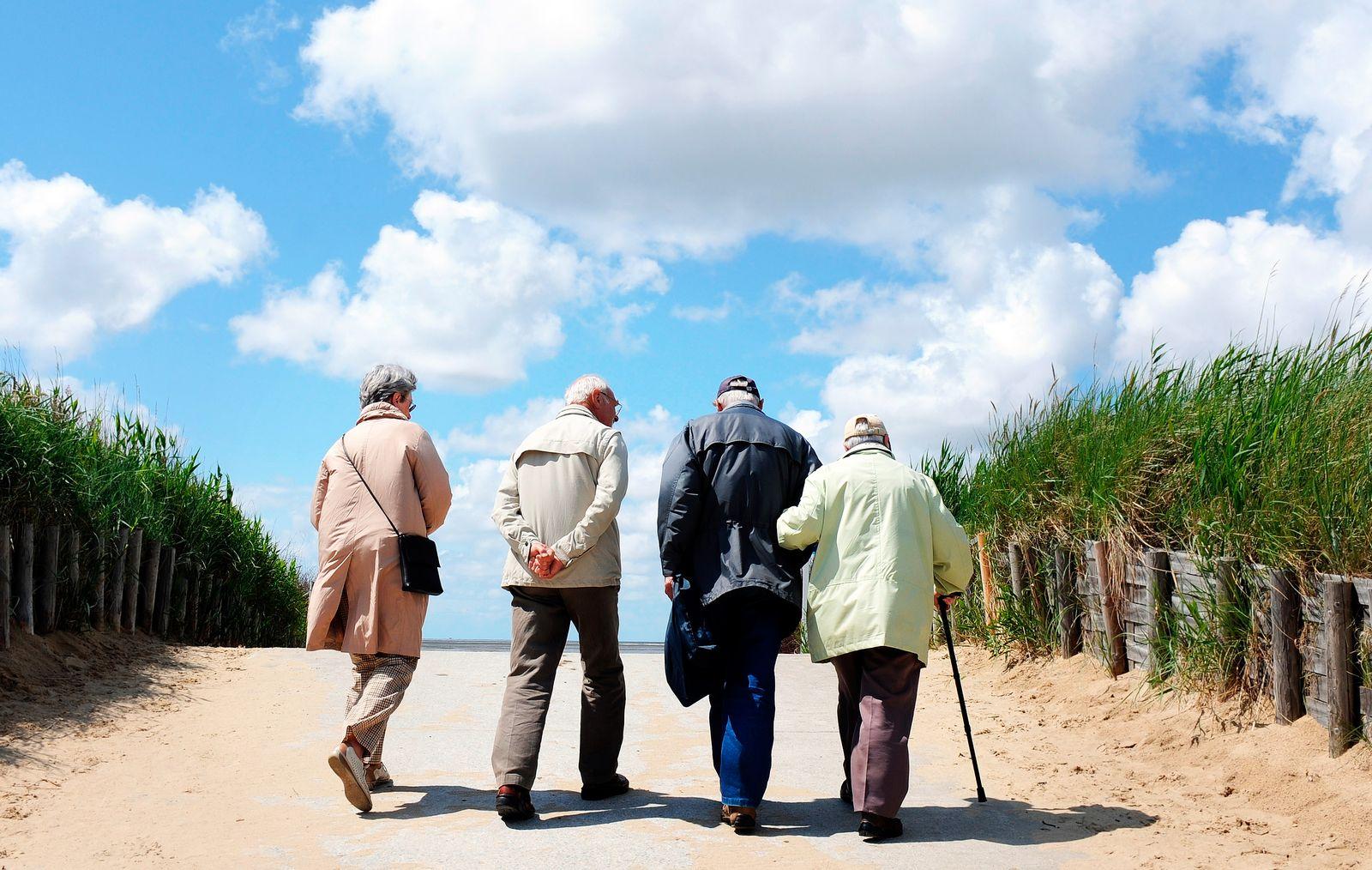 private Rentenversicherung / Rentner / Rente / Lebensversicherung / Symbolbild