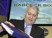 Kann seine Sachen packen: Lederer ist seit heute nicht mehr Chef von Babcock Borsig