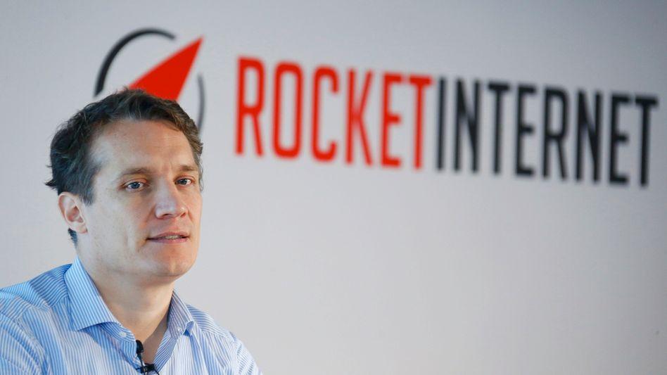 Rocket-Internet-Chef Samwer: Seine Vision ist es, mit Rocket Internet den größten Online-Marktplatz außerhalb Chinas und den USA aufzubauen