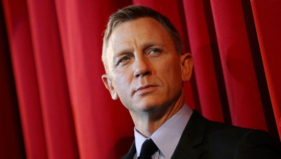 James-Bond-Darsteller Daniel Craig: Keine Chance beim britischen Geheimdienst