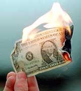 Aus mit dem Wohlstand: Brennende Finanznöte