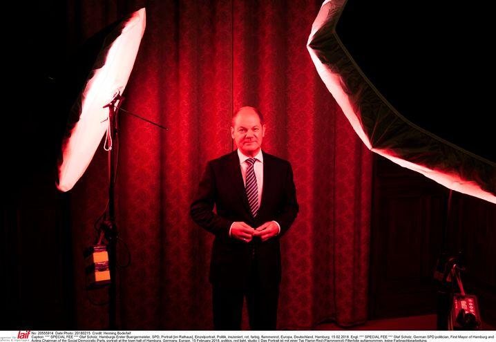 Roter Minister, schwarze Null? Olaf Scholz gibt sich solide, er will Kanzler werden.