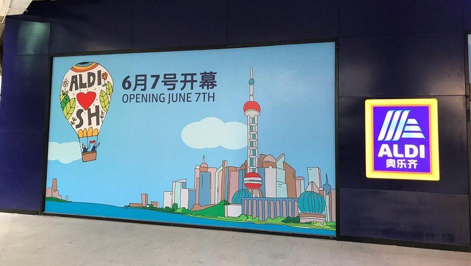 Aldi eröffnet erste Filiale in China: Am 7. Juni ist es soweit