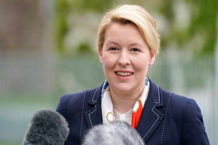 Machte mit dem Quotengesetz den Weg frei für mehr Frauen in Führung: Bundesfamilienministerin Franziska Giffey, die heute zurücktrat.