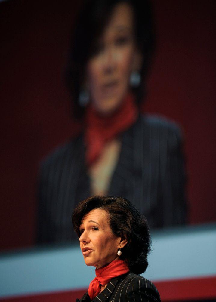 Stolze Bewahrerin der Familientradition: Santander-Chefin Ana Patricia Botín