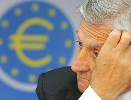 Was tun? EZB-Präsident Trichet nachdenklich