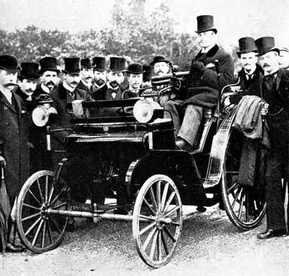 Namensgeber: Frederick R. Simms gründete die englische Autofirma Daimler, nachdem er Motorenpatente von Gottlieb Daimler gekauft hatte