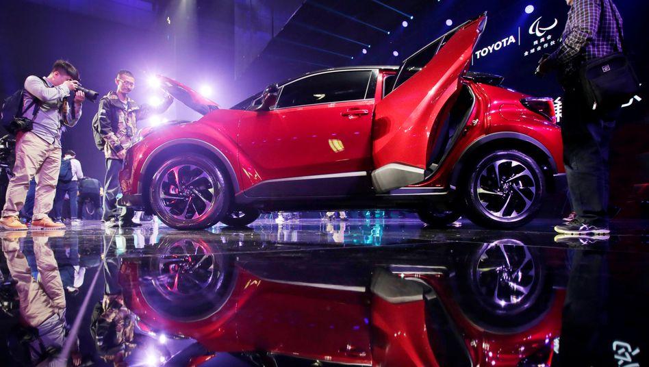 Autos von Toyota sind in China gefragt. Hier hat der japanische Autobauer mit die größten Wachstumsraten