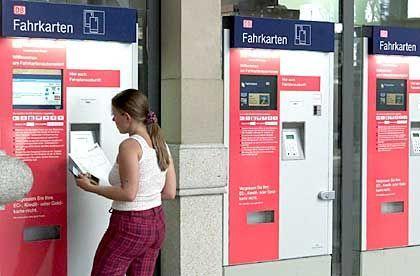 Preissystem in der Kritik: Fahrkartenautomat