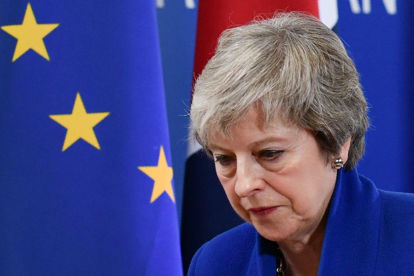 EU-Gipfel / Brexit / May