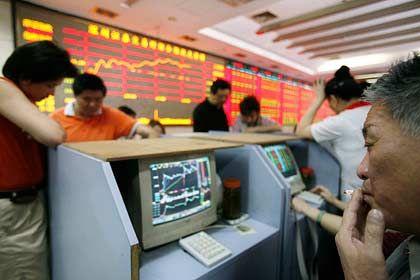 Eine Art Lotteriespiel: Chinesen an der Börse Shanghai