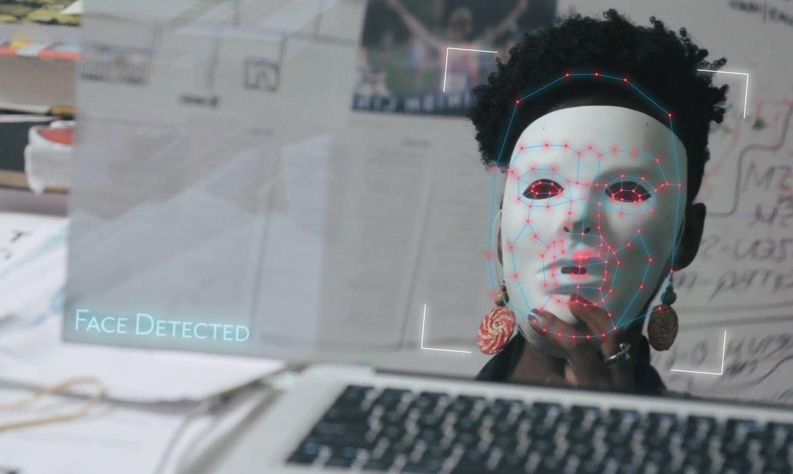 CODED BIAS, computer scientist and digital activist Joy Buolamwini...
