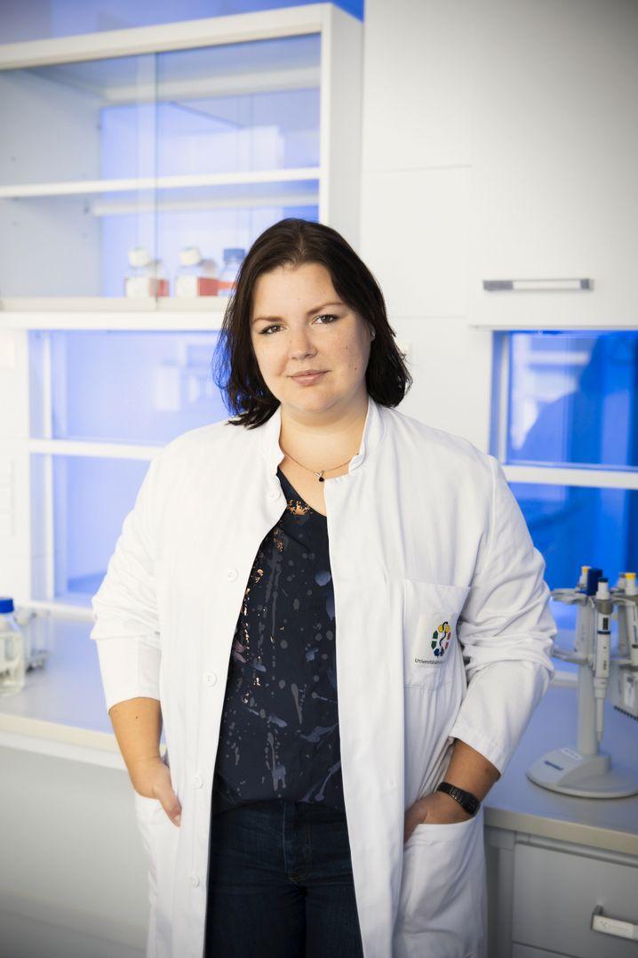 Laborchefin: Barbara Grüner vom Westdeutschen Tumorzentrum in Essen.