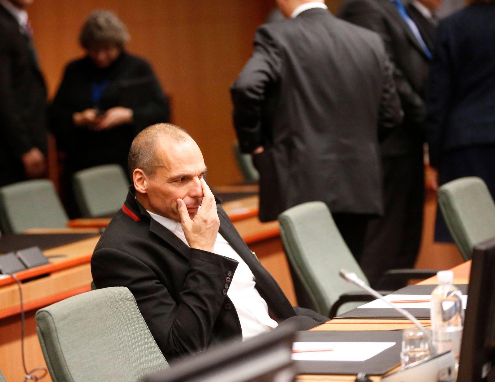Yanis Varoufakis Brüssel