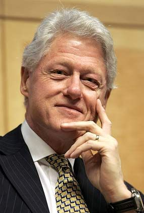 """Spender Clinton: """"Der kollektive Einfluss der Menschen kann außerordentlich sein"""""""