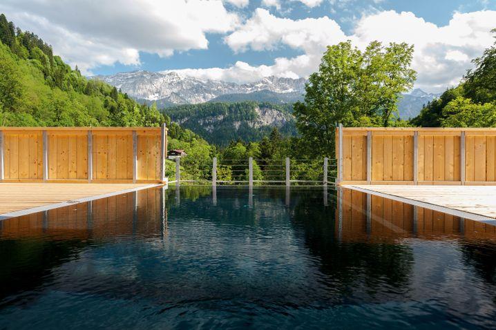 Mit hoteleigener Gondel: Das Graseck, Bayern