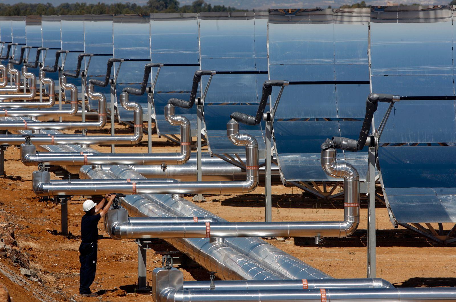 Spanien / Solarpark Alvarado