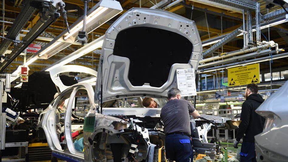 Mercedes-Produktion in Bremen: Erneut Kurzarbeit