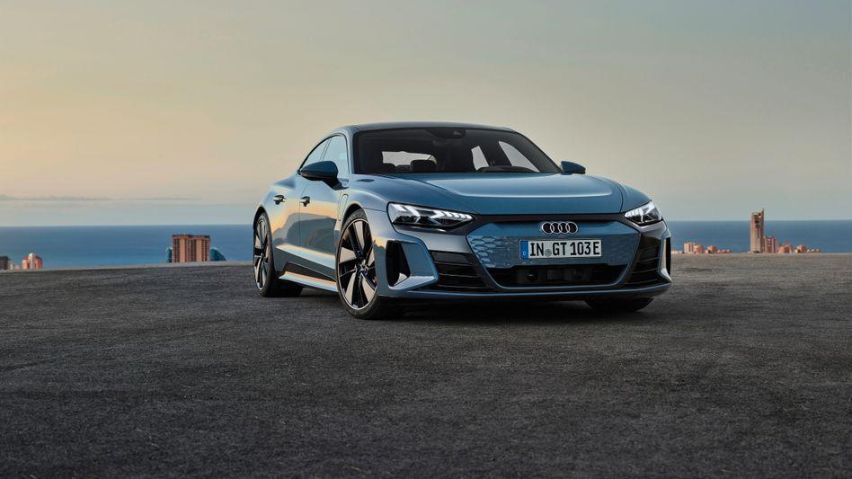 Erhoffter Bannerträger: Audis E-tron GT soll die Elektrolimousinen-Oberklasse aufmischen