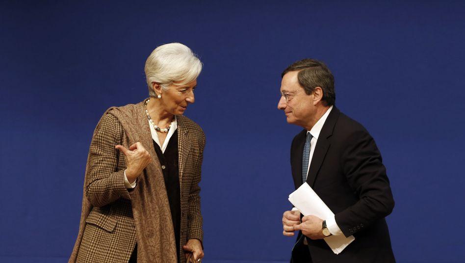 EZB-Chef Mario Draghi, Nachfolgerin Lagarde: Lagarde wird Draghis Niedrigzinspolitik fortführen. Dabei wäre es Zeit, die Geldpolitik der letzten Jahrzehnte zu stoppen