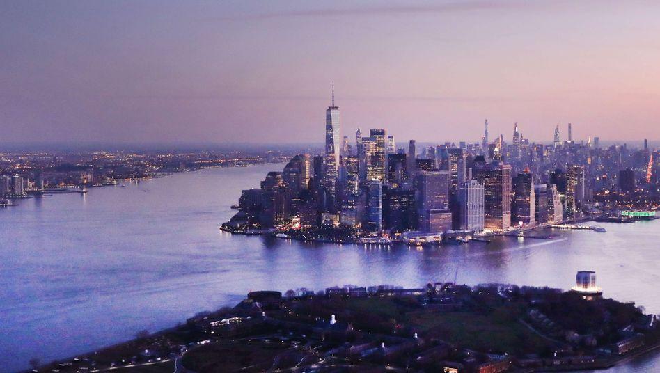Skyline von Manhattan: Leerstandsquote bei 5 Prozent