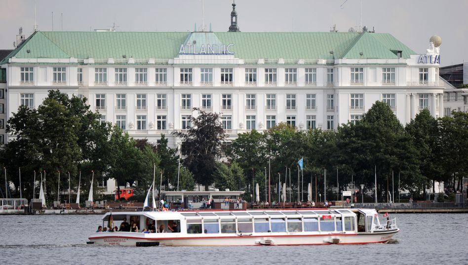 Das Luxushotel Atlantic an der Hamburger Alster zählt zu den ersten Adressen in Detuschland