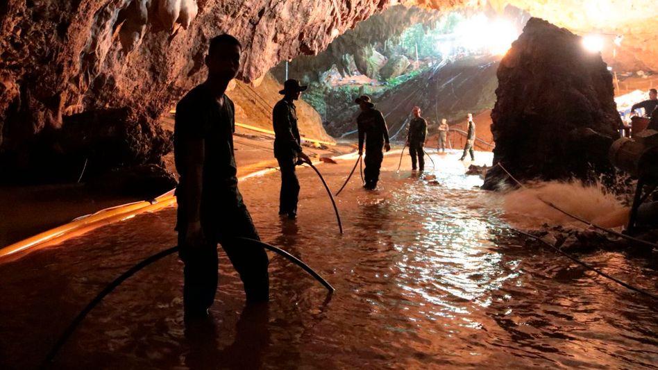 Ende des Höhlendramas: Alle Jungen samt Trainer gerettet