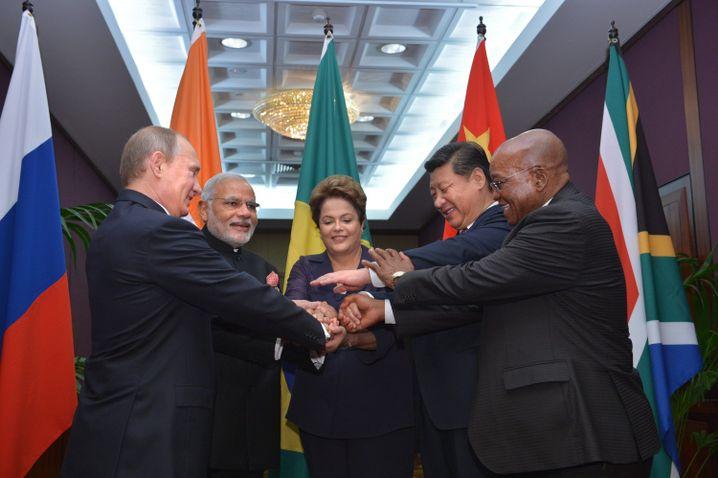 BRICS-Gruppe beim G20-Treffen