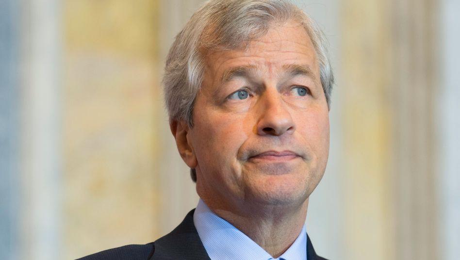 Jamie Dimon ist CEO und Chairman von JPMorgan Chase.