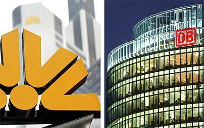 Schwankende Werte: Anteile an Commerzbank und Deutscher Bahn versprechen dem Staat Milliardenerlöse - sofern er den Verkauf zum richtigen Zeitpunkt tätigt