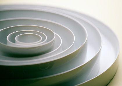 Höchst harmonisch: Porzellanreihe Hombroich von blohmgumm, Designpreis in Silber