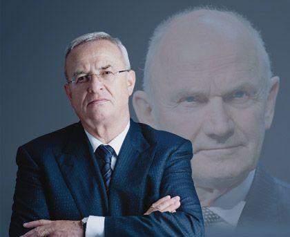 Mehr Einfluss bei Porsche: VW-Chef Winterkorn, im Hintergrund sein Mentor, der Porsche-Miteigentümer und ehemalige VW-Chef Piëch