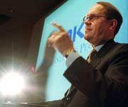 """Nokia-Chef Jorma Ollila erwartet für das vierte Quartal einen """"rekordverdächtigen"""" Gewinn je Aktie."""