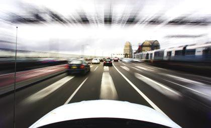 Anreise zur Cebit: Die Verkehrsleitsysteme weisen Messebesuchern den günstigsten Weg