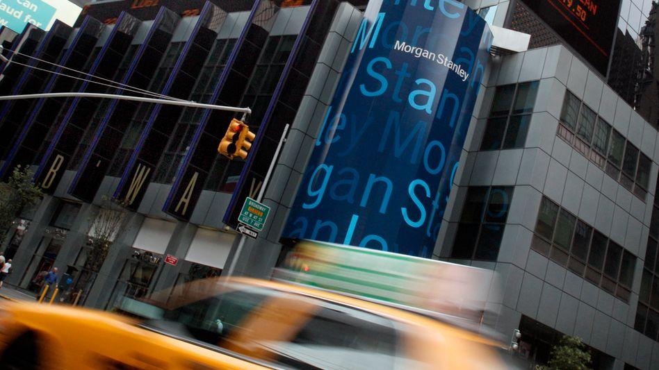 Morgan-Stanley-Zentrale in New York: Mühsame Rückkehr zu ehemaligen Gewinnhöhen