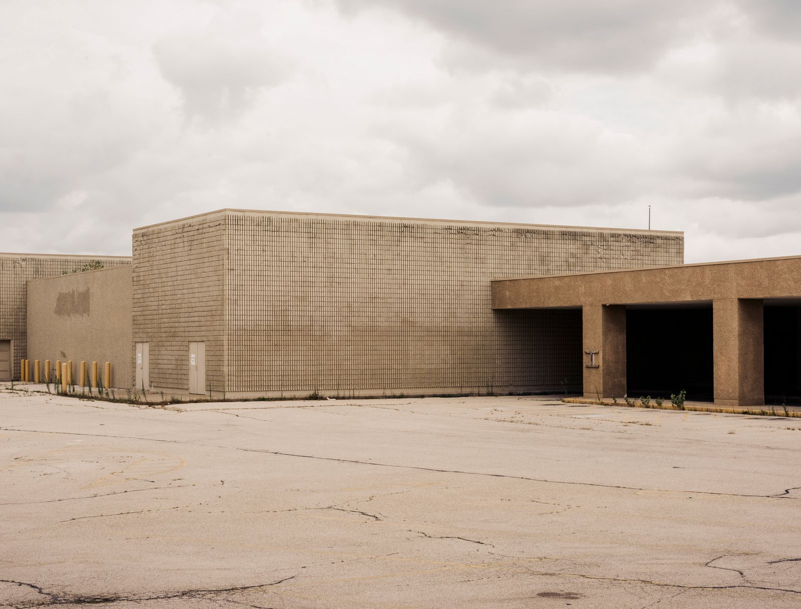 The Sandburg Mall, which closed in 2018, in Galesburg, Ill.