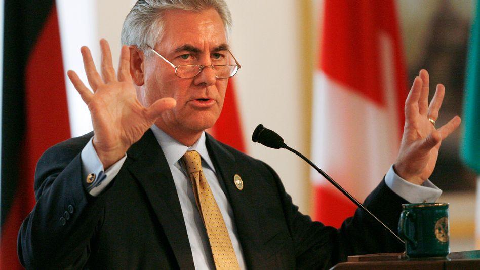 """""""Die Menschheit hat diese enorme Fähigkeit, mit großem Elend zurechtzukommen"""": Exxon-Chef Rex Tillerson setzt beim Thema Klimawandel offenbar auf natürliche Auslese"""