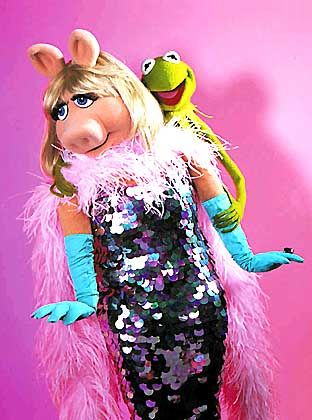 """Brachten EM.TV kein Glück: Miss Piggy und Kermit aus der """"Muppets Show"""""""