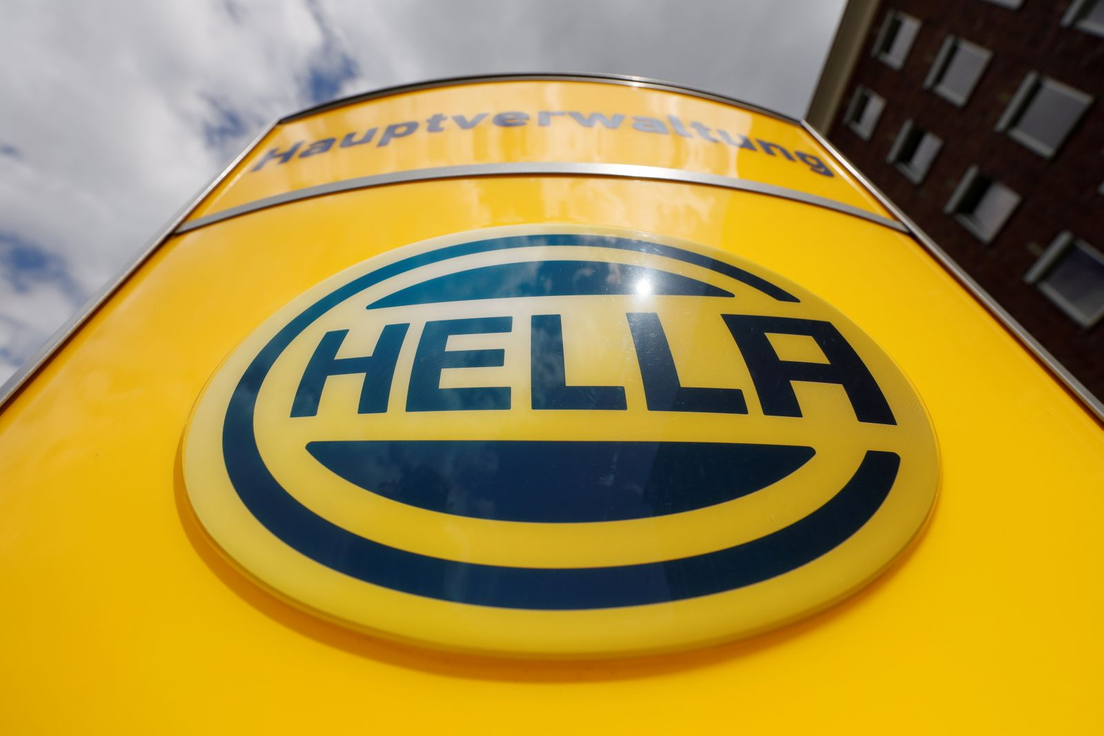 FILE PHOTO: Headquarters of Hella in Lippstadt