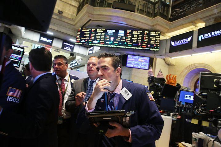 Aktienhändler in New York: Erfolg leicht messbar