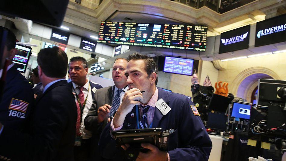 Flashcrash in den USA: Der S&P 500 verlor im Mai 2010 kurzzeitig fast 10 Prozent. Hochfrequenzhändler haben den Absturz durch zahlreiche Verkaufsorders beschleunigt