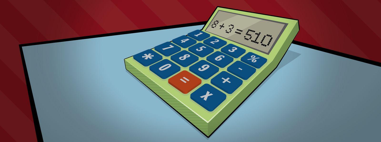 Rätsel der Woche Taschenrechner