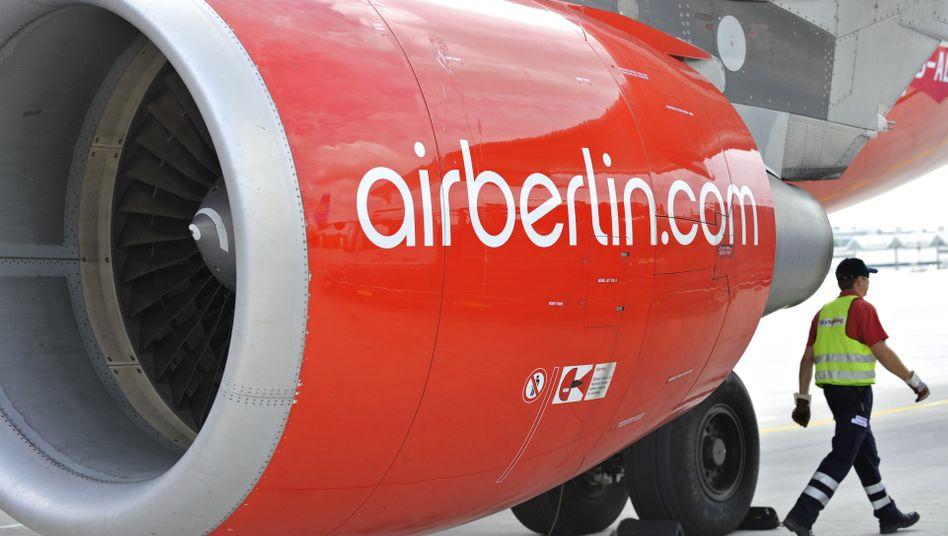 Ein drastisches Sparprogramm soll die Zukunft der Fluggesellschaft Air Berlin sichern
