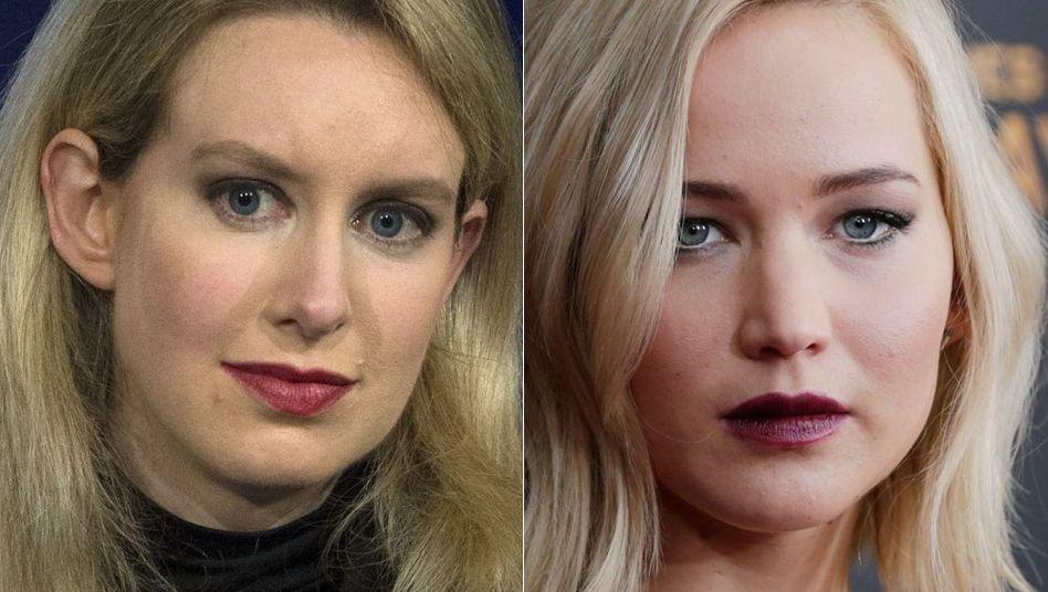 "Soll laut ""Deadline"" die Theranos-Gründerin Elizabeth Holmes (links) spielen: Oscar-Preisträgerin Jennifer Lawrence"