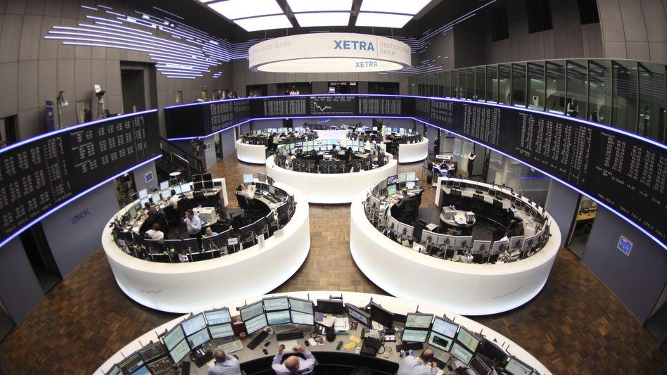 Börse Frankfurt am Main: Stimmung droht zu kippen