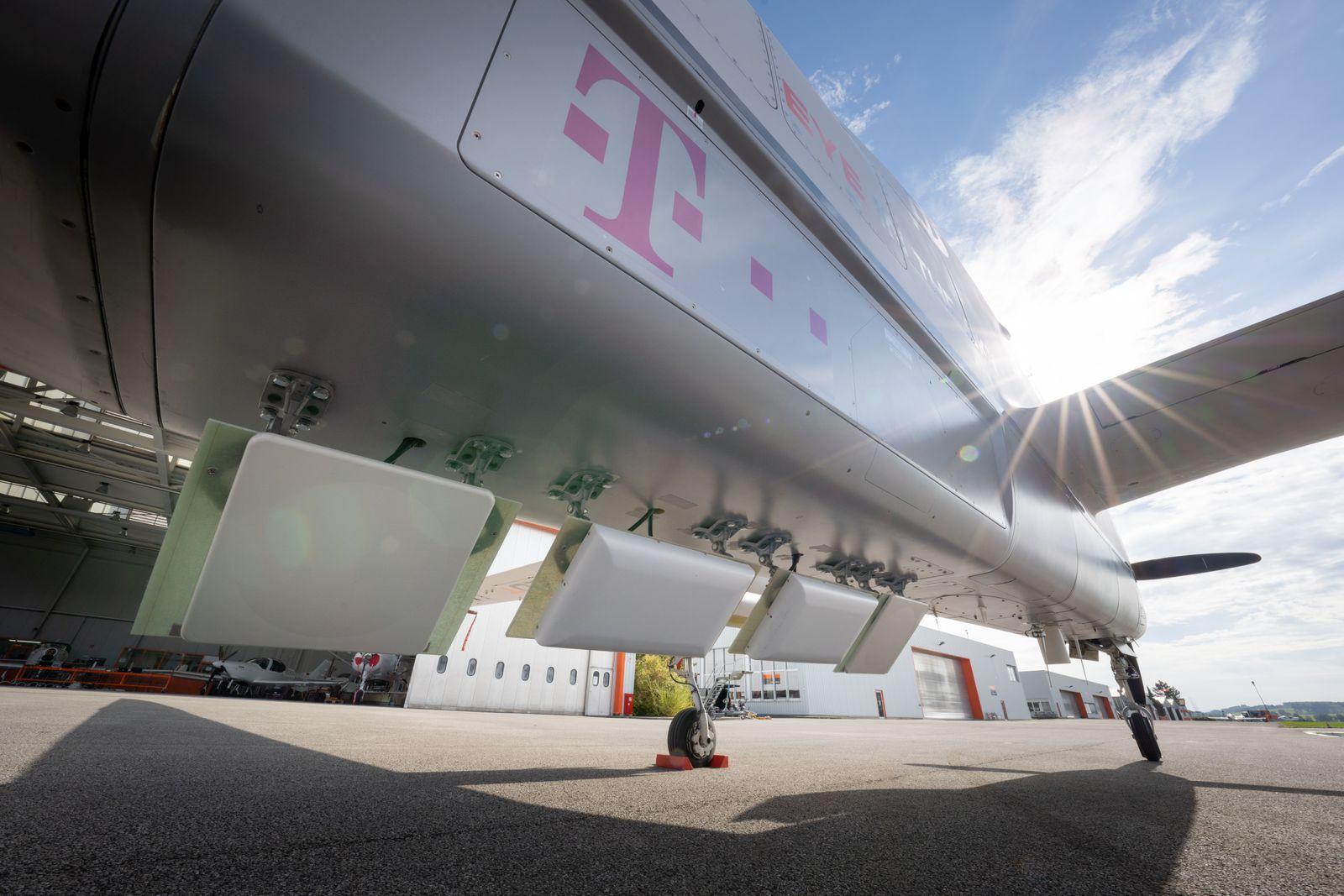 Deutsche Telekom / Mobilfunk aus der Stratosphäre