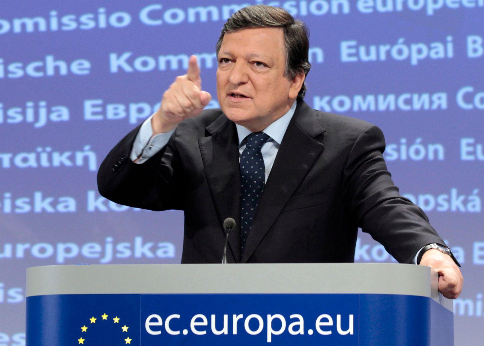 barosso EU finger