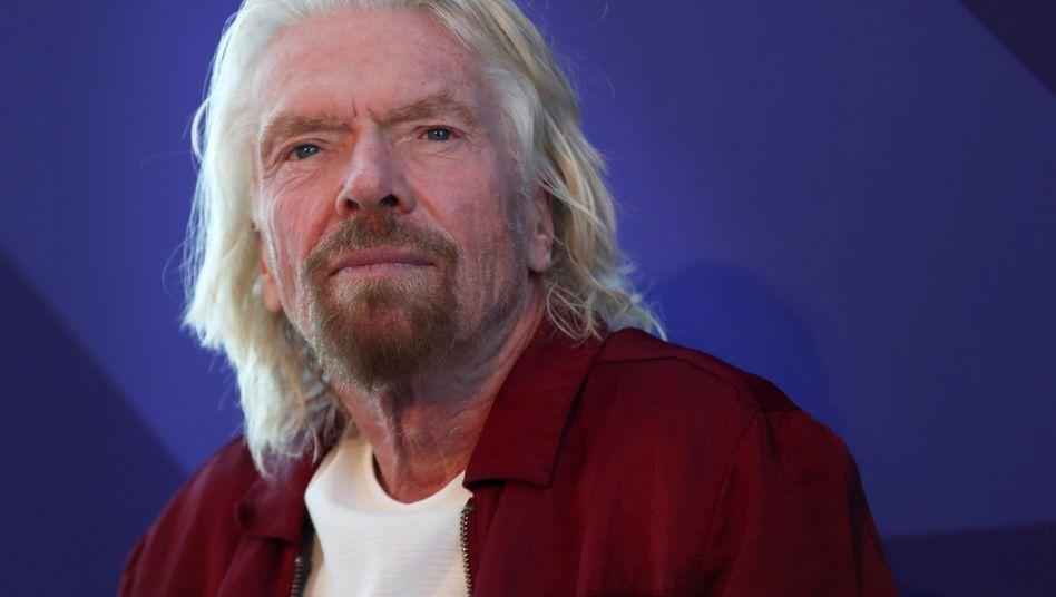 """Richard Branson: Das Vermögen des Milliardärs wird von """"Forbes"""" auf rund vier Milliarden Dollar geschätzt"""