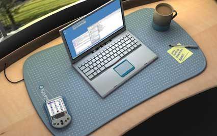 Das letzte Kabelproblem gelöst: die intelligente Schreibtischunterlage